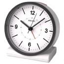 時刻がずれない目覚まし時計だよ!アナログの電波時計が便利です